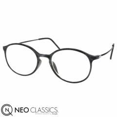 NEO CLASSICS ネオクラシック スキニー AGING glasses 老眼鏡 シニアグラス リーディンググラス グレーxブラック GLR-34-2