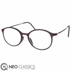 NEO CLASSICS ネオクラシック スキニー AGING glasses 老眼鏡 シニアグラス リーディンググラス レッドxブラック GLR-34-7