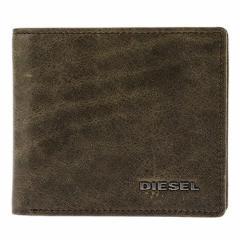 ディーゼル メンズ 二つ折り財布/DIESEL レザー 二つ折り財布  バレンタインデー