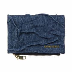 ディーゼル メンズ 二つ折り財布/DIESEL デニム 二つ折り財布 クリスマス