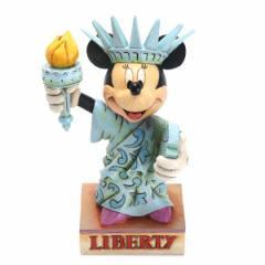 エネスコ フィギュア オブジェ 置物/enesco ディズニー MINNIE AS STATUE OF LIBE ミニーマウス フィギュア オブジェ 置物