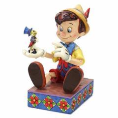 エネスコ フィギュア オブジェ 置物/enesco PINOCCHIO AND JIMINY CRICKET ピノキオ フィギュア オブジェ 置物
