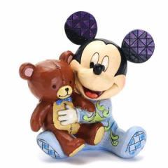 エネスコ フィギュア オブジェ 置物/enesco ディズニー ミッキーマウス BABYS FIRST MICKEY フィギュア オブジェ 置物