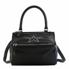 ジバンシー レディース ショルダーバッグ ハンドバッグ/GIVENCHY SHOULDER BAG 2WAY レザー ショルダーバッグ ハンドバッグ ブラック