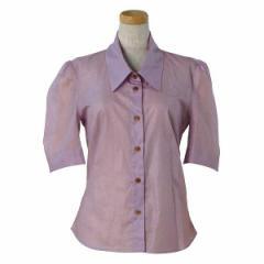 ヴィヴィアンウエストウッド レディース ブラウス シャツ38サイズ/VIVIENNE WESTWOOD 半袖 ブラウス シャツ ライトピンク