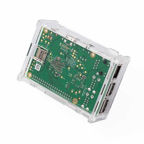 2 Model B /& Pi Model B+ Case for Raspberry Pi 3