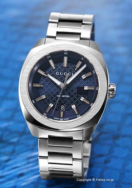 quality design dca44 07c79 グッチ 時計 メンズ GUCCI 腕時計 GG2570 L YA142314|au Wowma!