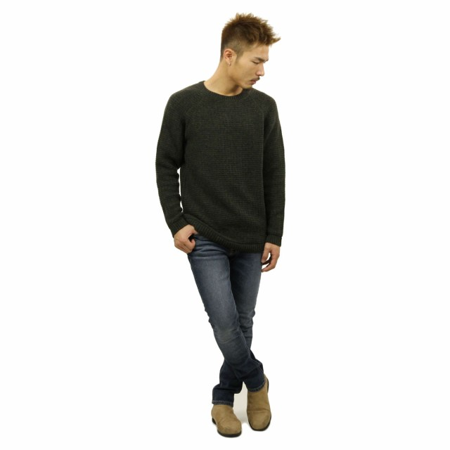 Nudie Jeans Mens Hans Structure Knit