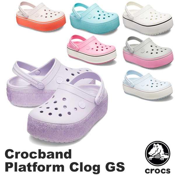 crocs platform clogs