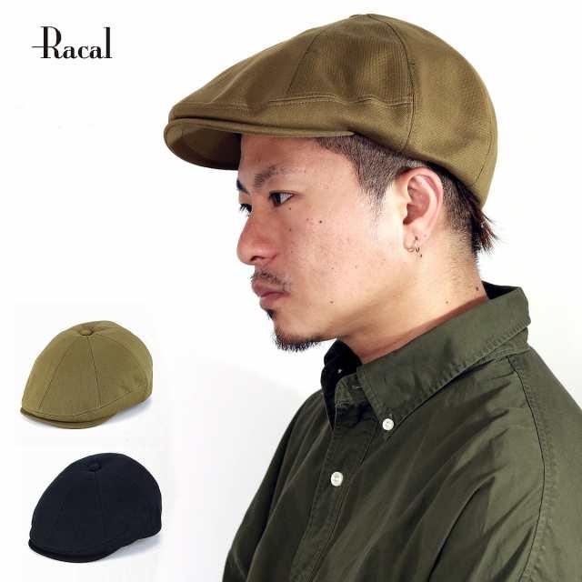 秋 冬 キャスハンチング 帽子 キャスケット メンズ ブランド コットン racal ベレー帽 メンズ 日|au Wowma!