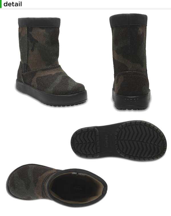 クロックス(crocs) ロッジポイント ノベルティ ブーツ