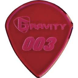 Gravity Guitar Pick G003p 003 Standard 1 5mm Red アクリルピック グラビティギターピック の通販はau Pay マーケット 楽器de元気