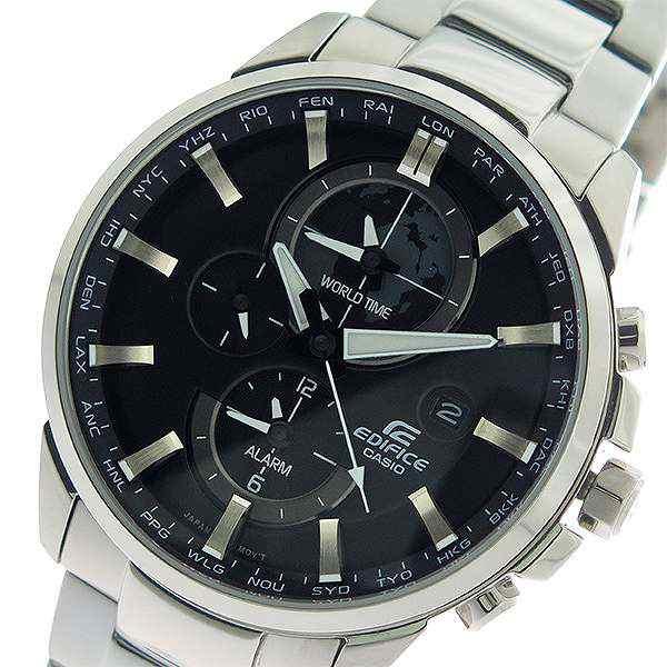 1540831435 腕時計 メンズ カシオ CASIO エディフィス EDIFICE クロノ クオーツ ETD-310D-1A ブラック/シルバー