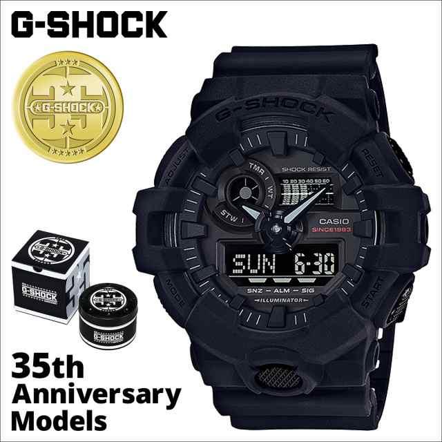best cheap 3f59d 6fad2 カシオ CASIO G-SHOCK 腕時計 GA-735A-1AJR BIG BANG BLACK 35周年 ジーショック Gショック G-ショック  ブラック メンズ レディース|au Wowma!