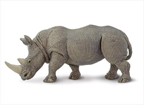 TST safari (サファリ) シロサイ(親) さい サイ フィギュア おもちゃ ...