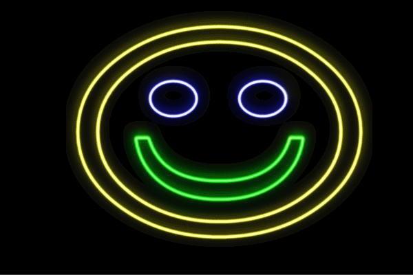 ネオン フェイス 笑顔 顔 かお アイコン 絵文字 顔文字 イラスト ネオンライト 電飾 Led ライト の通販はau Pay マーケット ワールドショップ