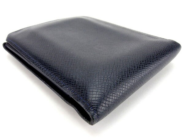 new concept e4447 047b7 ルイ ヴィトン Louis Vuitton 二つ折り財布 財布 小物 サイフ メンズ タイガ 【中古】 L1237|au Wowma!