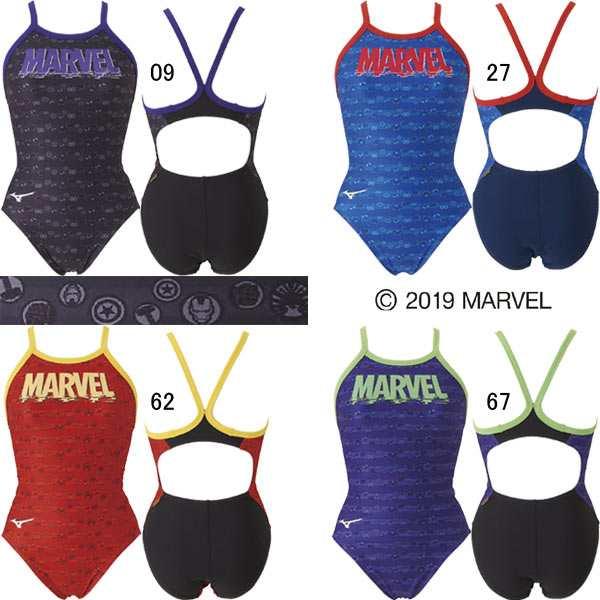 4921fc609f8 ミズノ(MIZUNO)女性用トレーニング水着 マーベル(MARVEL) エクサスーツウイメンズミディアム