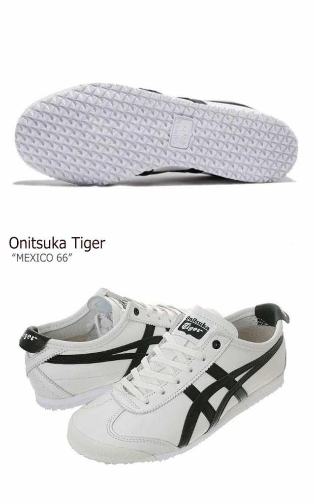 new product 9030f 7b386 オニツカタイガー スニーカー Onitsuka Tiger メンズ レディース MEXICO 66 メキシコ66 ホワイト ブラック  D508K-0190 シューズ|au Wowma!