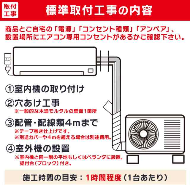 エアコン 設置 費用