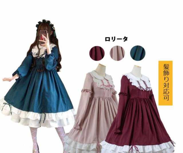 ドレス ロリータ 女の子コーデ★ロリータ&ゴシックファッションの描き方を学ぼう!