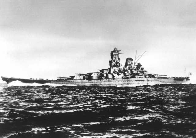 絵画風 壁紙ポスター 戦艦大和 1944年 大日本帝国海軍 太平洋戦争 ...