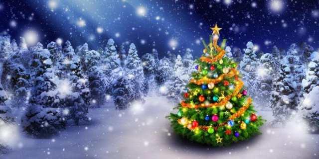 絵画風 壁紙ポスター ホワイトクリスマス パノラマ X'mas クリスマス ...