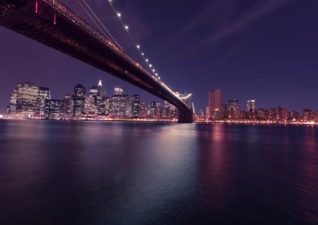 絵画風 壁紙ポスター ブルックリン橋とマンハッタン 夜景 ハドソン川 ニューヨーク キャラクロ Nyk 009a1 A1版 0mm 585mm の通販はau Pay マーケット レアルインターショップ Au Pay マーケット店