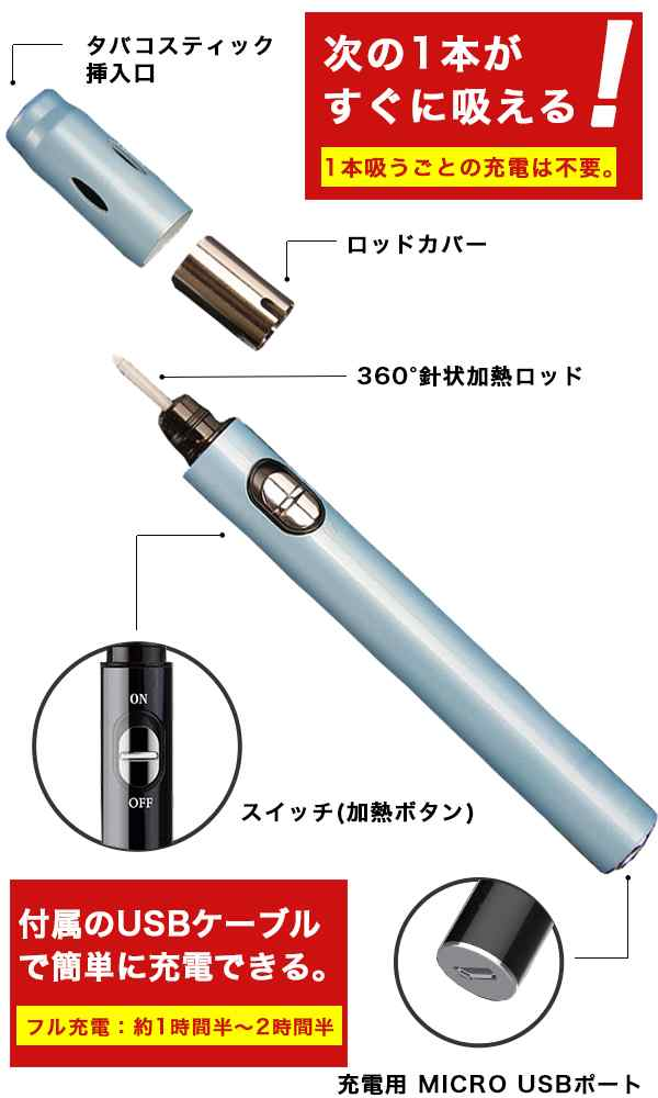 電子タバコ 加熱式タバコ
