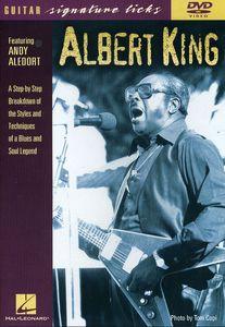ALBERT KING / GUITAR SIGNATURE LICKS (輸入盤DVD) (アルバート ...