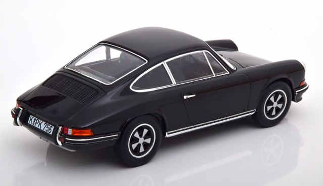 Norev Porsche 911 S Noire 1973 1//18