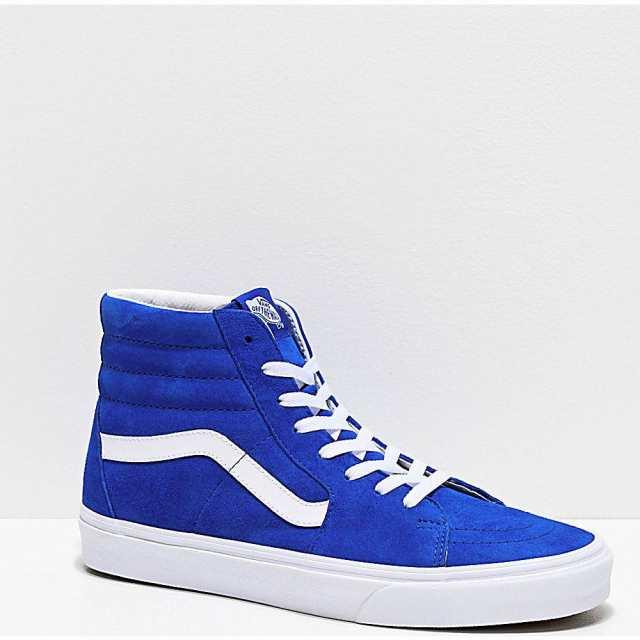 靴 Vans Sk8-Hi Pig Princess Blue Skate