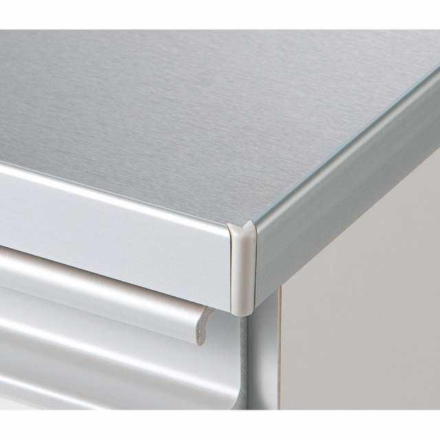 bf28a36914 組立不要 水や汚れに強いステンレス天板 サニタリーチェスト 幅45cm ...