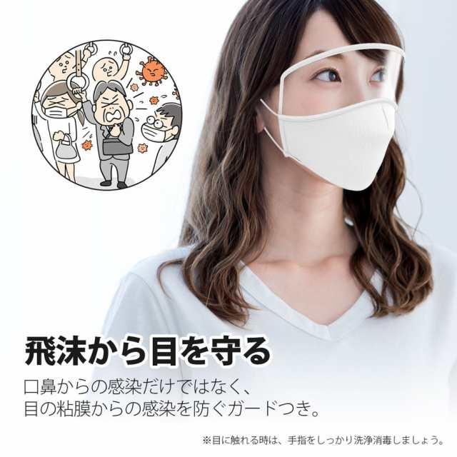 マスク と フェイス シールド