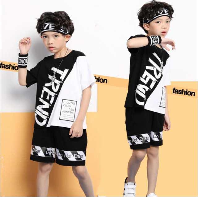 3f446a1f61499 キッズダンス衣装 男の子 女の子 ヒップホップ キッズ服 子供服 子供ダンス HIPHOP半袖T