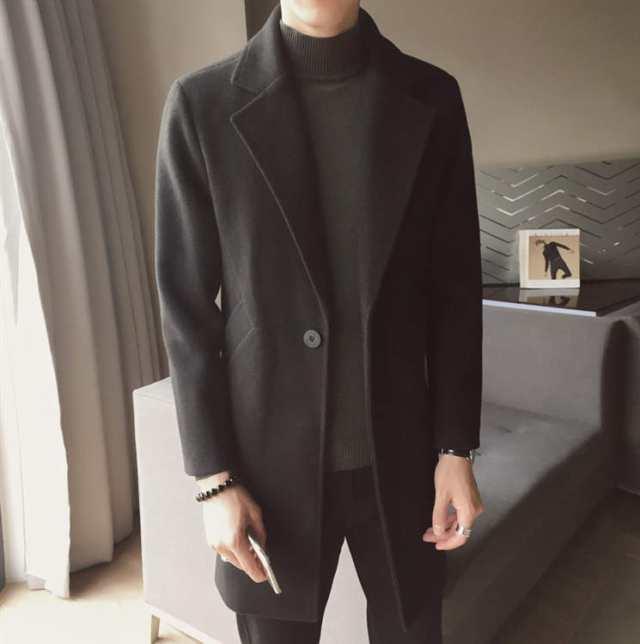 スーツ ピーコート