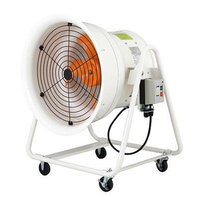 こでかファン 送風機(軸流ファンブロワ)ハネ400mm三相200V ホワイト ...