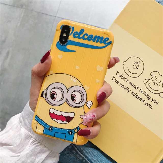 ミニオン 携帯 カバー
