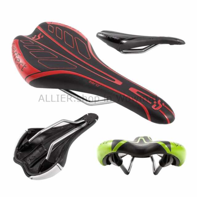 Mountain Bike Cycling Seat MTB Road Bicycle Comfort Saddle Cushion Pad Comfy Red