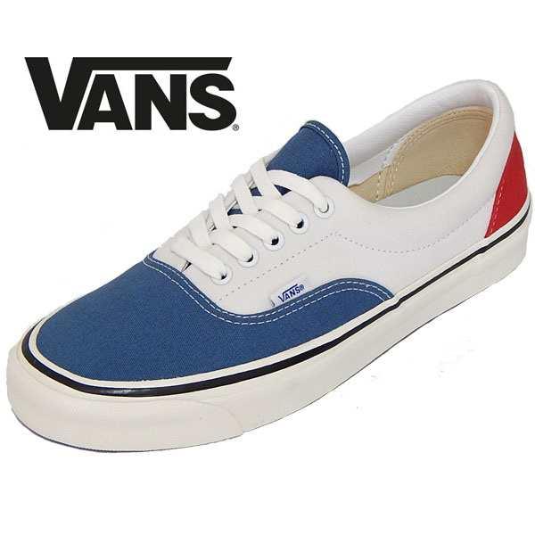 VANS ERA バンズ エラred white blueの通販