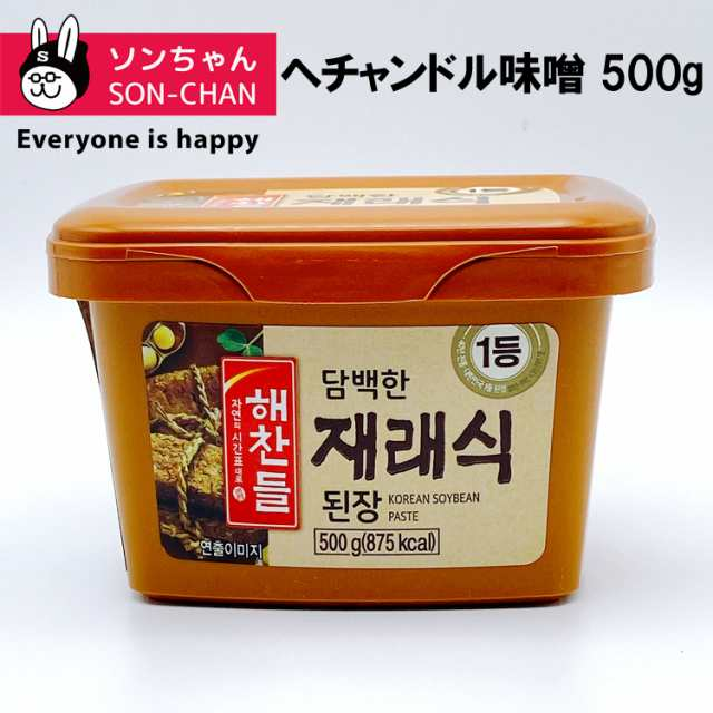 ヘチャンドル 味噌 500g テンジャン ビビゴ 韓国 みそ 韓国フード 韓国 ...