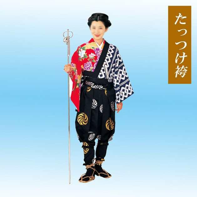 たっつけ袴 手古舞 お祭り てこまい 72505の通販はau PAY マーケット ...