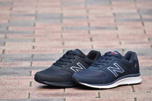 ニューバランス MW880G B4 N4 BLACK NAVY ブラック ネイビー 軽量 通勤 ...