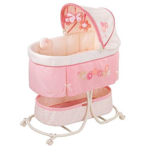 Summer Infant サマー インファント バシネット 音楽付き ピンクの通販 ...