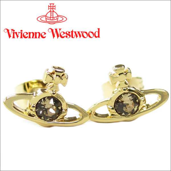 new product 10568 52063 ヴィヴィアン ウエストウッド ピアス ナノソリティアピアス ゴールド(旧タイプ) Vivienne Westwood|au Wowma!