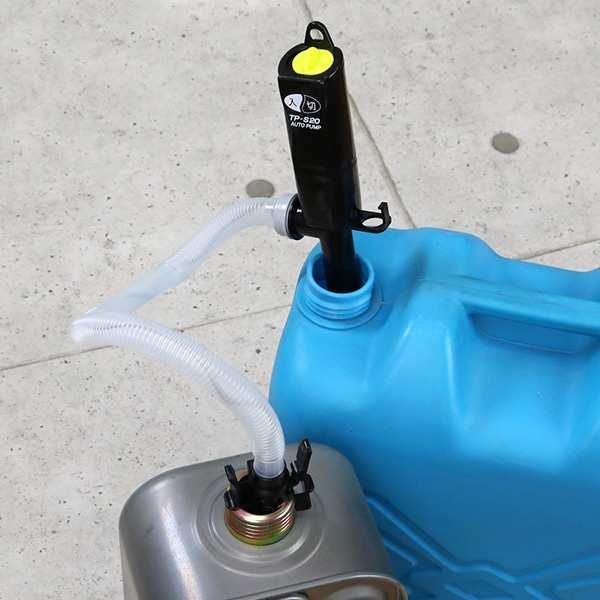 ポンプ 給油