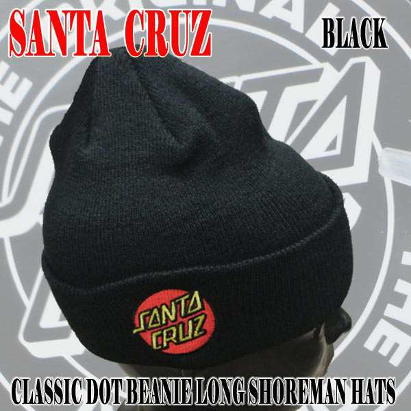 Santa Cruz Mens Classic Dot Long Shoreman Beanie