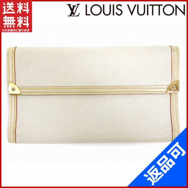 c417efb25d11 ルイヴィトン 財布 LOUIS VUITTON 長財布 三つ折り財布 ポルトフォイユインターナショナル ホワイト (激安・