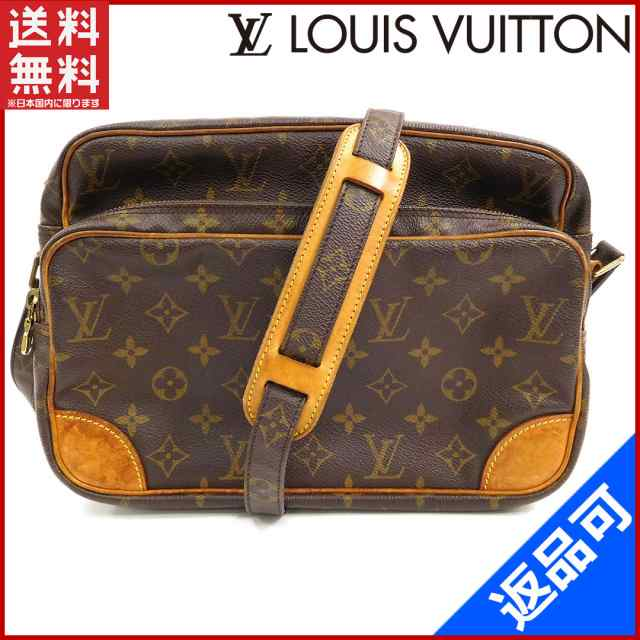 check out ce399 53c6a ルイヴィトン バッグ LOUIS VUITTON ショルダーバッグ 斜めがけショルダー ナイル 人気 良品 【中古】 X7273|au Wowma!