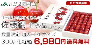 佐藤錦超大玉2L300g